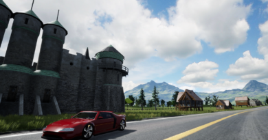 Dev & Release of Fictitious Racer Game